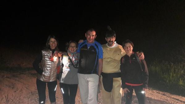 randonnée nocturne BANTOUZELLE un grand merci à tous les participants .