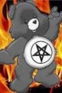 evil care bear