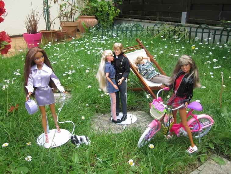 barbie,ken