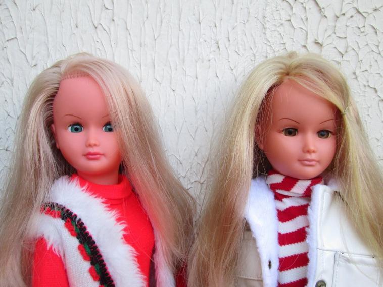 la famille Dolly et Mélusine au complet