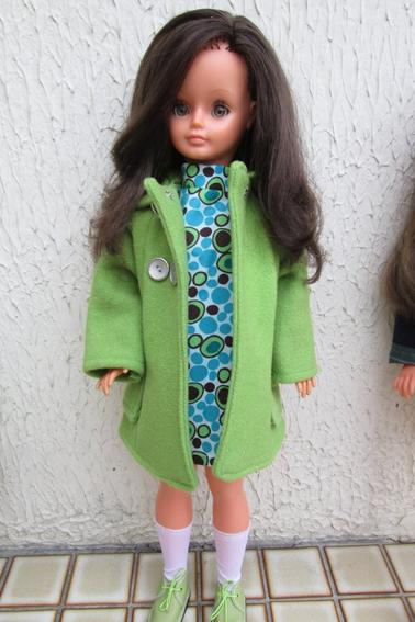mes brunettes en vert