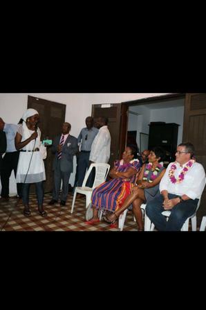 Rencontre entre la ministre de l'outre-mer et la communauté comorienne