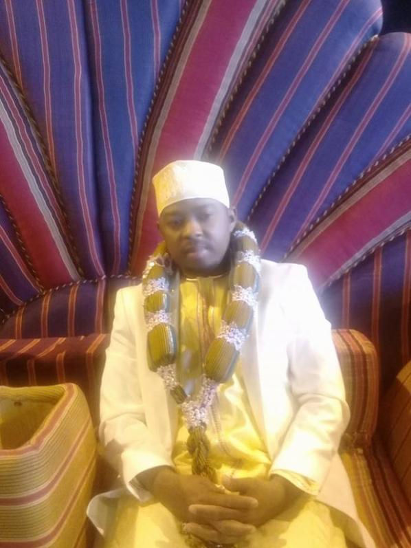 Mariage : SAMBA, invité de marque au mariage d'ORTEGA