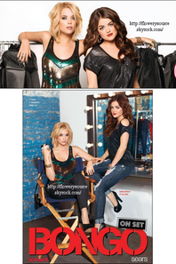 Lucy Hale & Ashley Benson ~ Nouvelle campagne pour la marque Bongo : Presentation pour la collection automne/hiver.