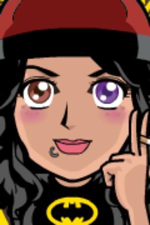 Les trois personnages principaux de la fiction TeDi - face your manga
