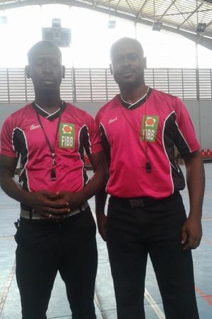 Arbitre de Basket en Côte d' Ivoire  SALIM DIALLO