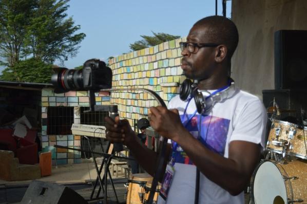 Salim Diallo l'un des meilleurs cadreurs en Afrique de l'ouest