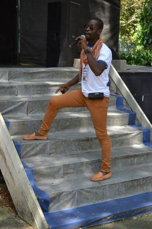 Salim Diallo assure magnifiquement les concerts