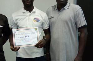 les jeux de la Francophonie: Salim Diallo reçoit son prix