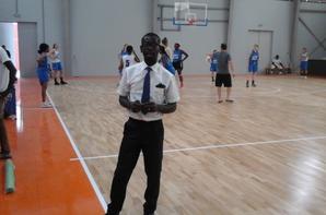 SAlim Diallo aux jeux de la francophonie
