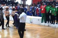 Francophonie 2017 Le Présentateur (M.C) de la finale de Basket était le talentueux SALIM DIALLO qui a assuré.Félicitation