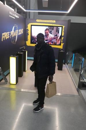 Salim Diallo à BERCY en France