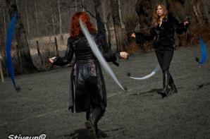 en spectacle ( partie au delà de l'irréel ) partie Vampire