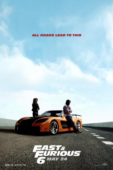 Deux nouvelles affiches teaser personnages Fast and Furious 6 !