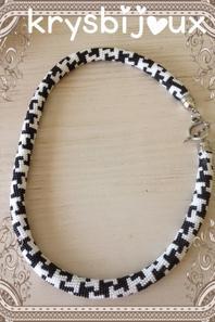 N•43 spirale noir et blanc