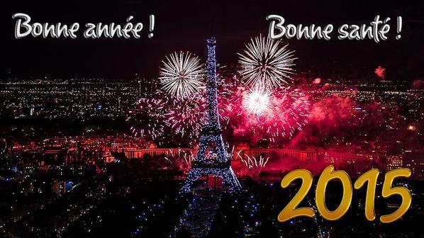 Bonne année 2015 et bonne santé ! :D <3
