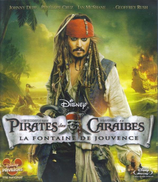 Pirates Des Caraibes La Fontaine De Jouvence
