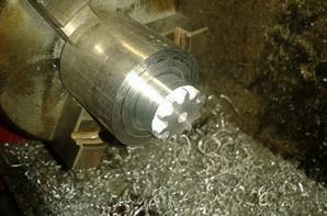 Usinage pignon 12 et 25 dents sur CNC Home made
