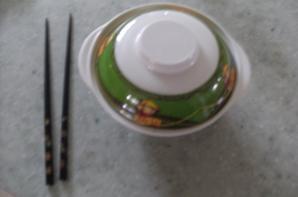 Une soupe chinoise Je pensais qu'elle était japonaise mais non tenpis :$