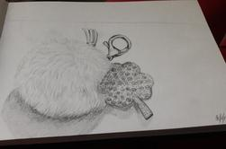 le dessin (que je continue) et que j'adore
