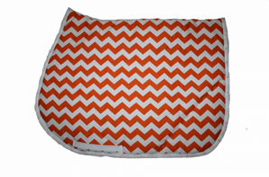 Tapis zig zag Orange + Strass