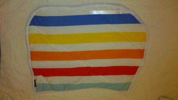 tapis de selle multicolore