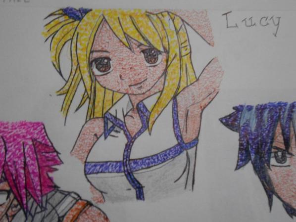 MES dessins (2)         Lucy Heartfilia