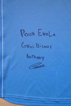 Maillot d'entrainement - Anthony Chauvet - Châteauroux [2008-2009]