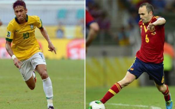 Brésil-Espagne : 3-0, le Brésil remporte la Coupe des Confédérations 2013 !