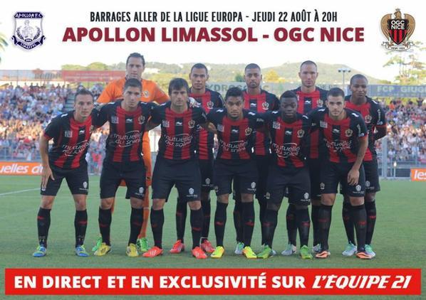 Ligue Europa : Saint-Étienne et Nice tenus en échec