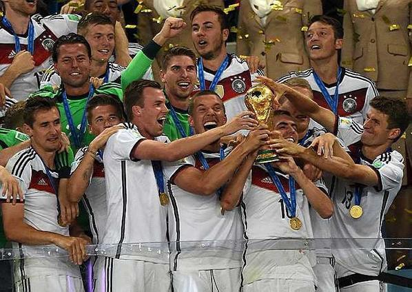 L'Allemagne sacrée championne du monde face à l'Argentine