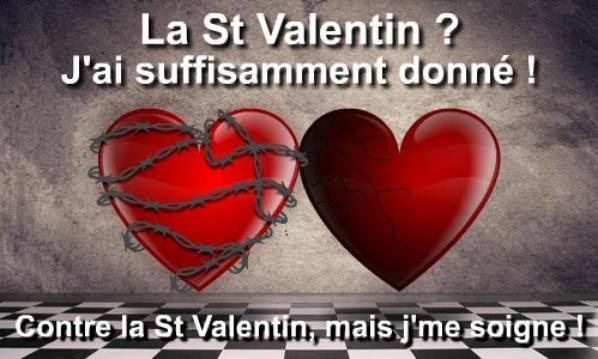 Anti St Valentin Quand On Est Celibataire