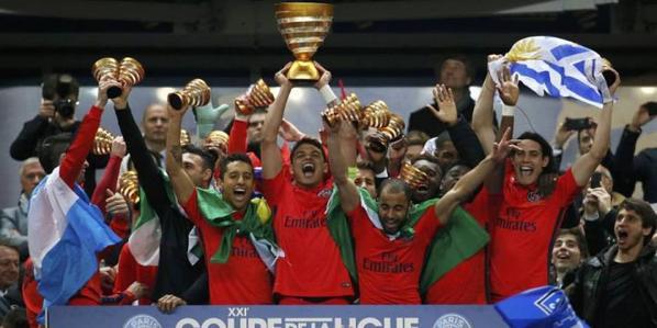 PSG-Bastia (4-0) : les doublés d'Ibrahimovic et Cavani en finale de Coupe de la Ligue