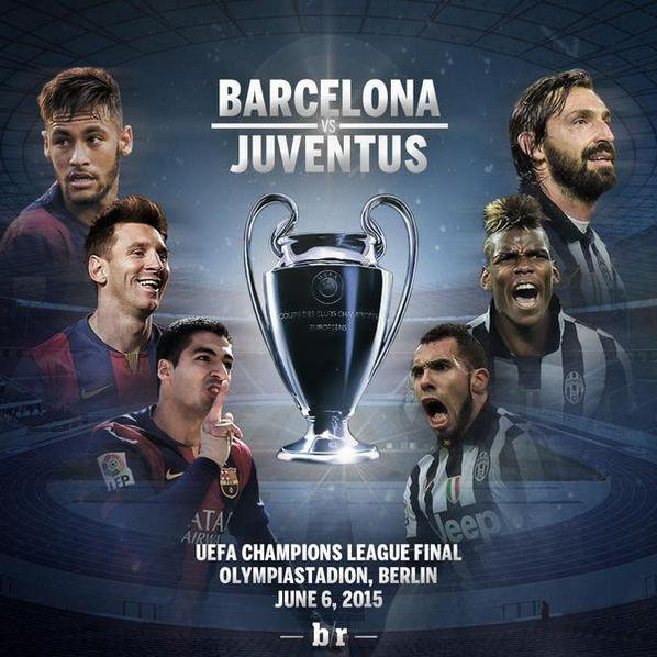 Ligue des champions: avec la finale Juventus/Barcelone