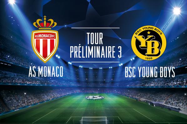 (3eme tour préliminaire) : Monaco face aux Young Boys de Berne