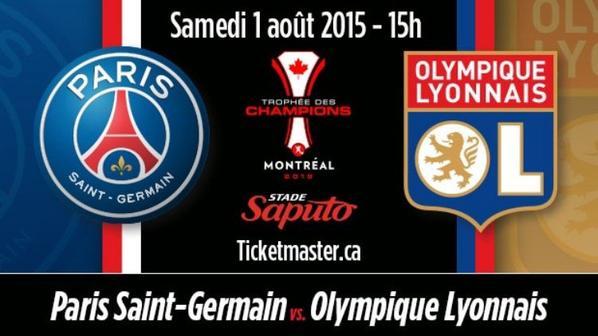 Paris, trop fort pour Lyon, remporte le Trophée des Champions (2-0)