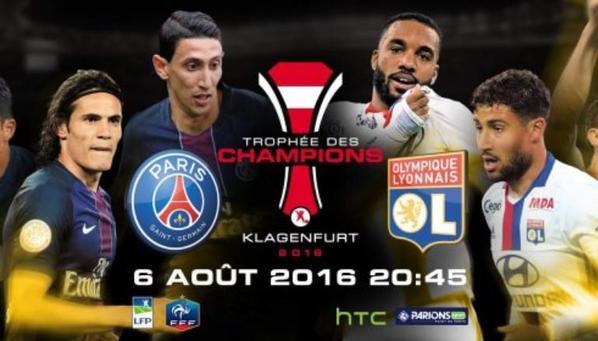 Trophée des champions : le PSG n'a fait qu'une bouchée de l'OL (4-1)