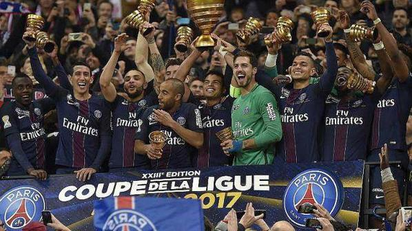 Le PSG a largement battu Monaco en finale de la Coupe de la Ligue