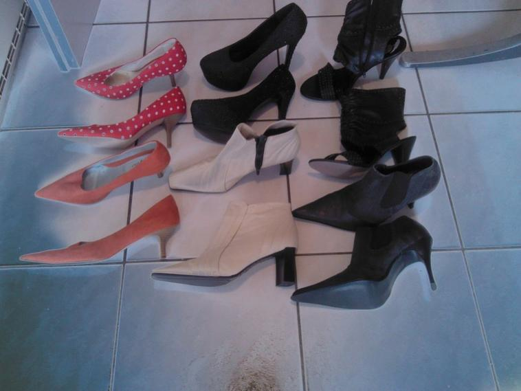 ma collection de chaussures:-)