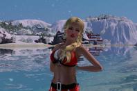 Ma Simsette qui pose pour un Shooting Photos ♥ Thème de Noël ♥
