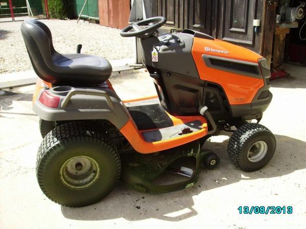 Mon tracteur tondeuse