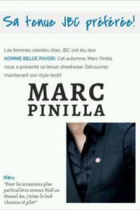 Marc Pinilla pour ●● jbc