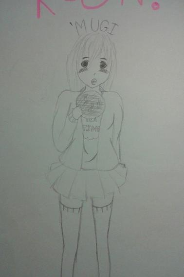 Dessins + Nisekoi et Fan Art K-on! (Tsumugi)