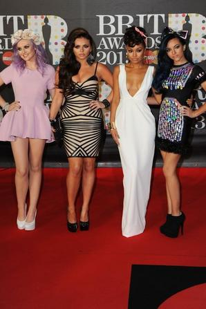 Little Mix au Brit Awards 2013