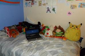 ma chambre enfin je crois XD