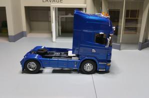 tracteur scania r420 v8 de chez eligor au 1/43.