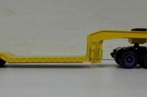 berliet tbo 15 avec semi porte-engins collection altaya espagne au 1/43.