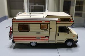 camping-car citroen c 25 la capucine pilote r 470 modèle ixo au 1/43.(édition hachette numéro 1).