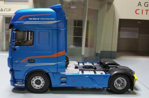 tracteur daf the new xf pure excellence 530ch my 2017 modèle eligor au 1/43.