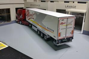 scania r 560cv v8 streamline topline semi-remorque chereau frigo inogam des trs phenix modèle eligor au 1/43.